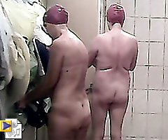 Hot video from a ladies' shower room voyeur camera