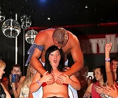 Girls Night Out Gets Out of Control with Buff Naked Stripper Dudes